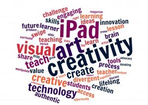 Word Art created by IPAD