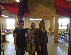 Jess Davis, Lisa Kalentjakos and Stephanie Anderson.